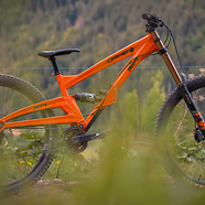 Orange Bikes 329 - James Anderson Factory Rider