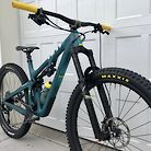 Yeti SB130 \\ Spruce n Yellow \\ GX Custom \\ Large \\ 27.9lbs
