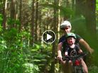 Father and Son Redwoods Picnic