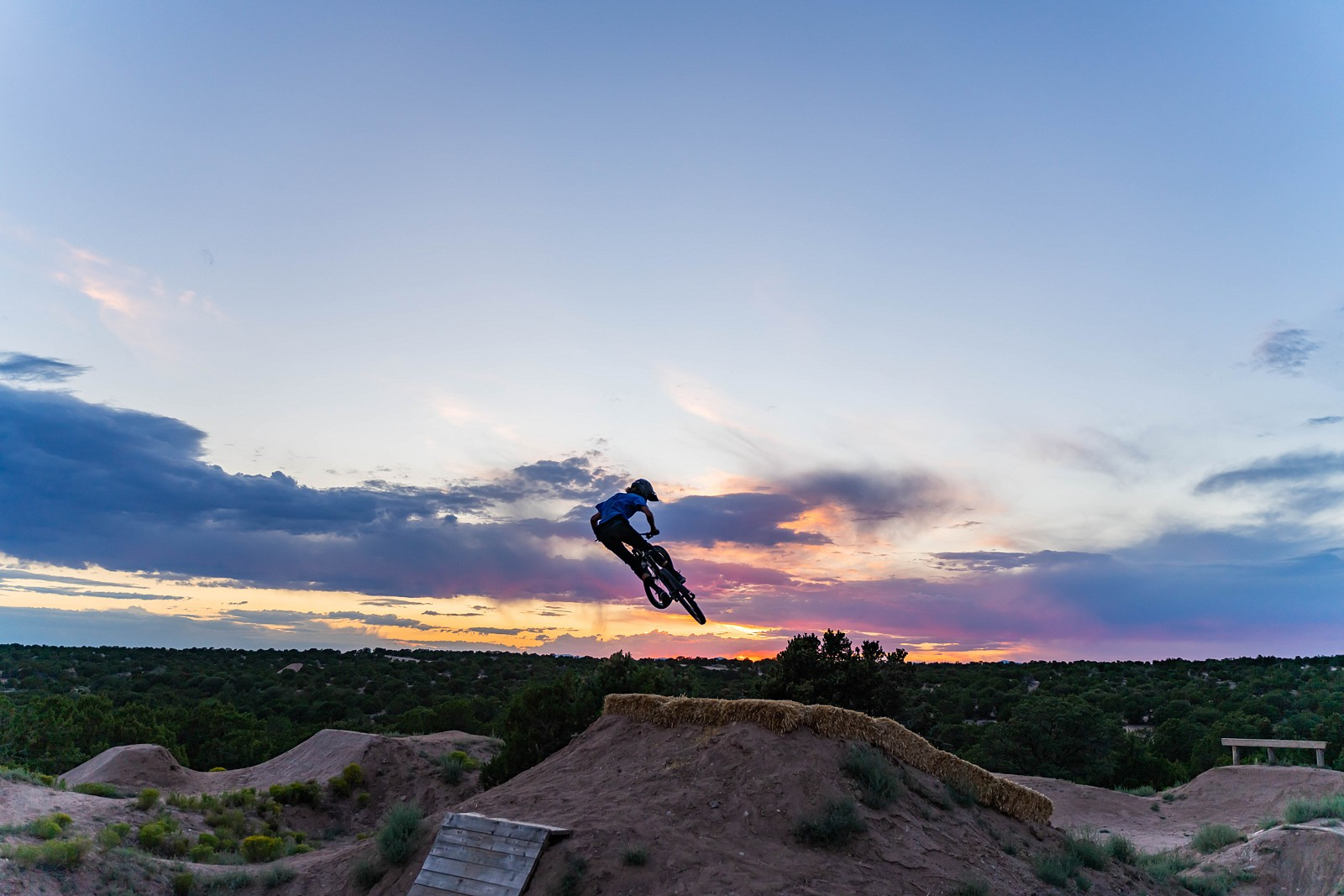 Henry whippin in the sunset - legpwr - Mountain Biking Pictures - Vital MTB