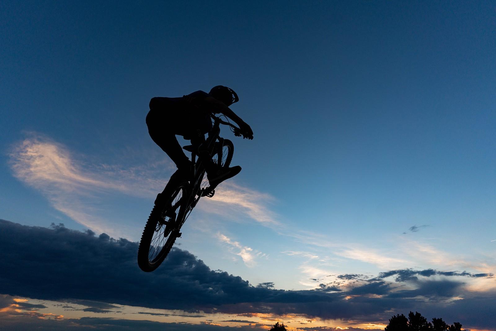 Climbing a bike in the sky  - legpwr - Mountain Biking Pictures - Vital MTB