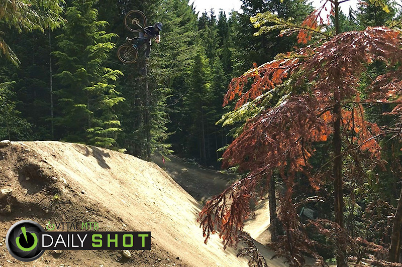1 Foot Table in Whistler - Todd Cagle - Mountain Biking Pictures - Vital MTB