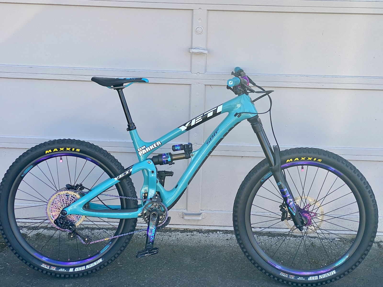My Galaxy Purple Yeti SB6C full custom build