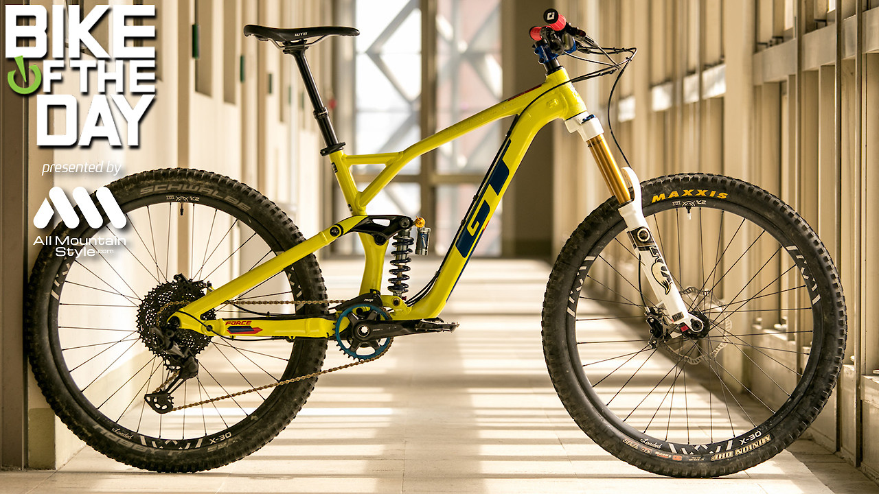 The Force Unleashed - GT Force 27.5 Custom Build