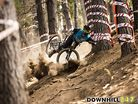Bright DH Nat Champs 2015 Brutal Crashes and Wild Riding