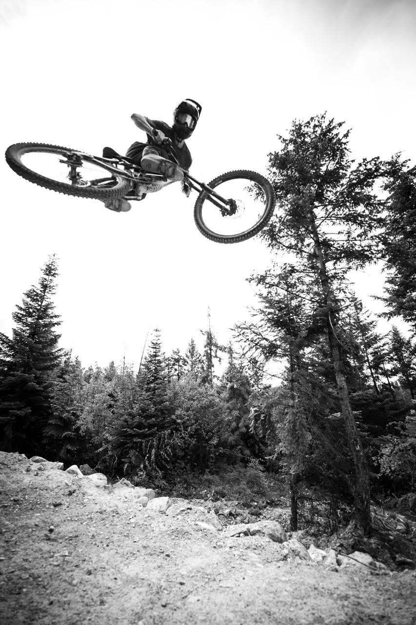 Gettin sideways  - mitchellphoto406 - Mountain Biking Pictures - Vital MTB