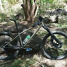 Tirador Titanium long travel hardtail with Trust Shout fork