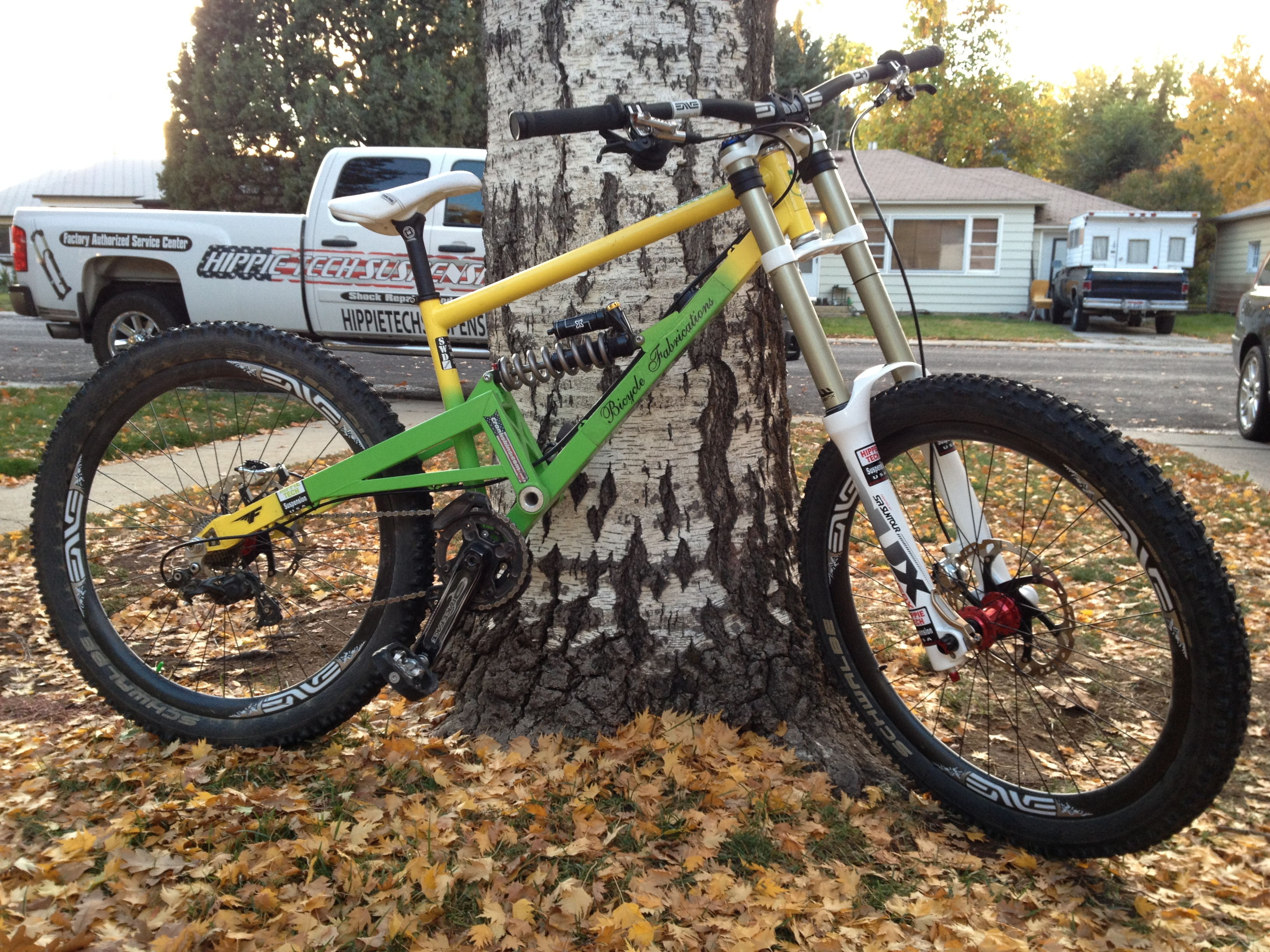 Bicycle Fabrications Swd 216 Dh Bike Jerry Vanderpool S
