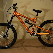 Bergamont BigAir 9 26/27.5 Fire-orange Custom