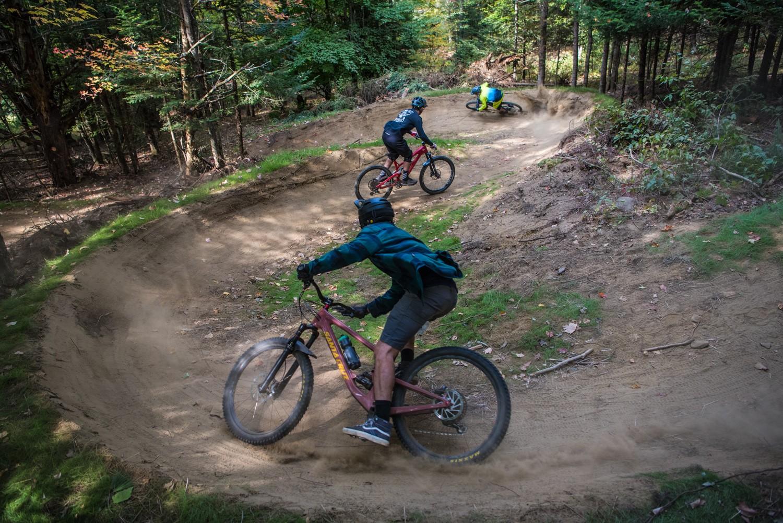 S Berm with the Crew - zekeneubauer - Mountain Biking Pictures - Vital MTB