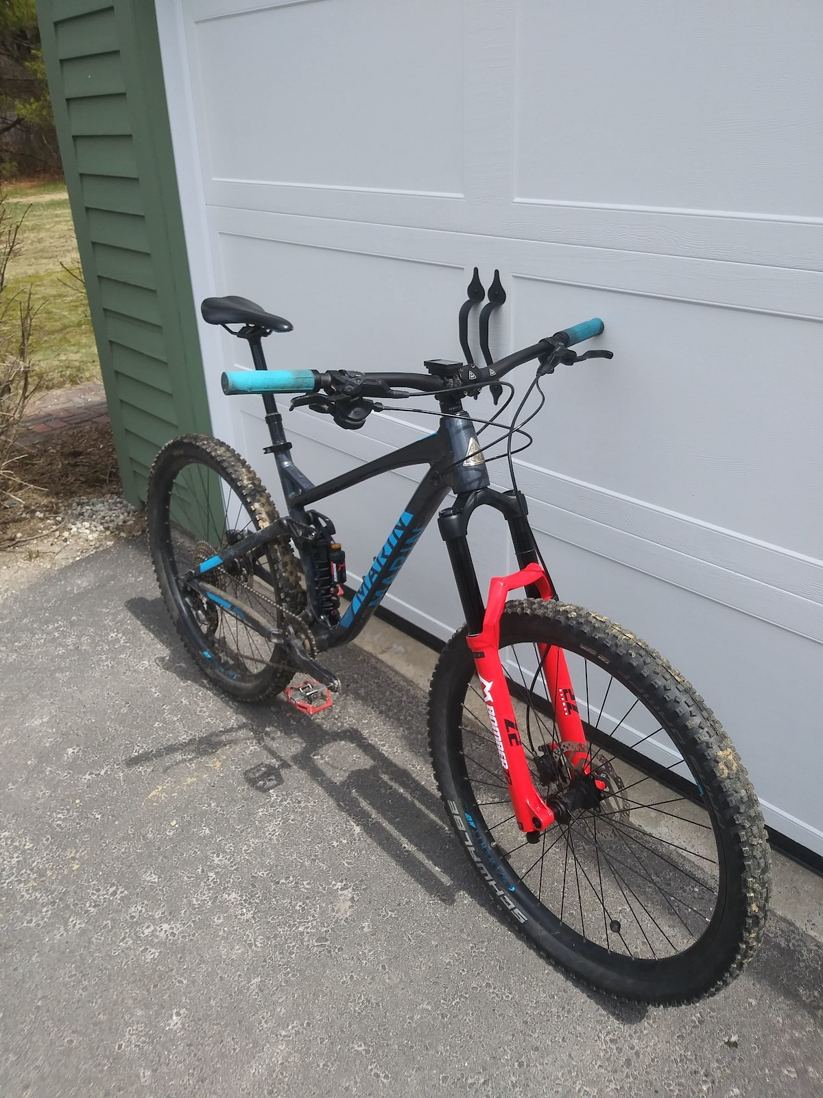 2018 Marin hawk hill 1.5 (hawk hill 1 with upgrades)