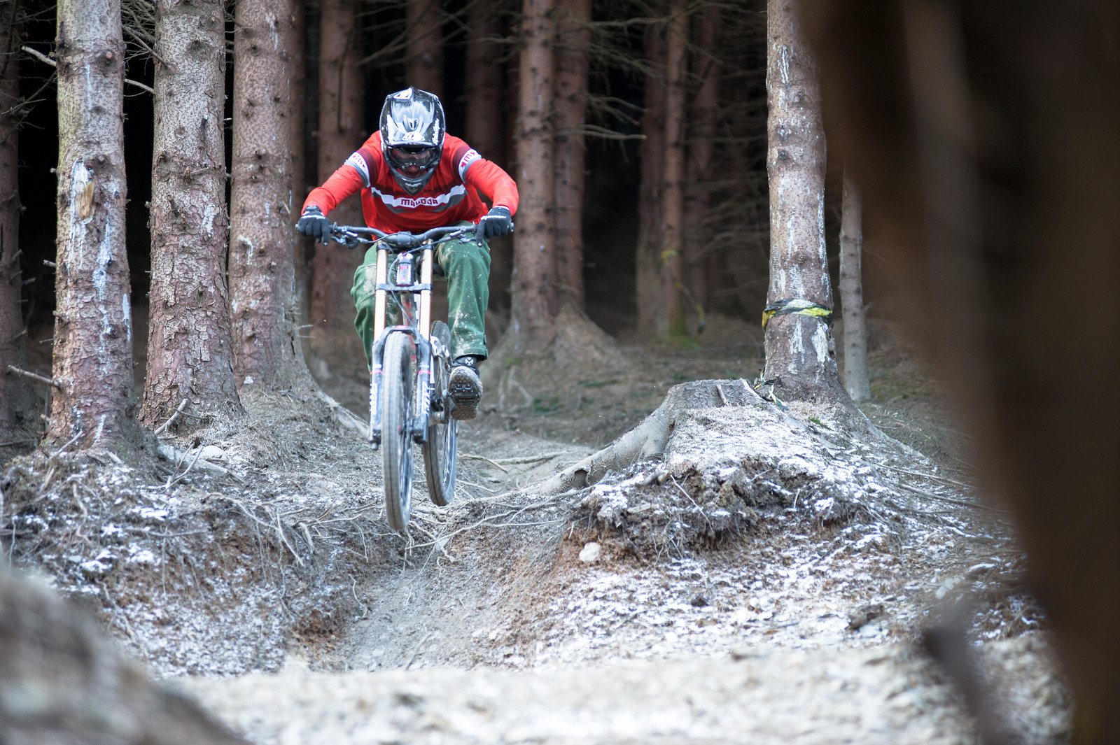 Wood section - Jean-dirt - Mountain Biking Pictures - Vital MTB