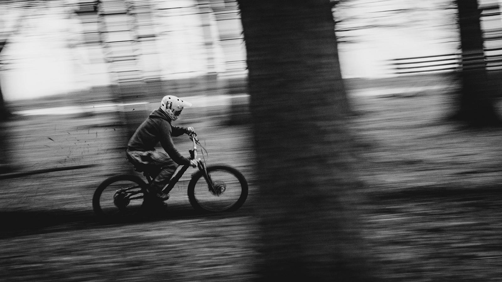 BnW Winter Panshots - Mushrum - Mountain Biking Pictures - Vital MTB