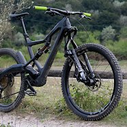 Polygon XquarOne with Motion Ride E18 linkage fork