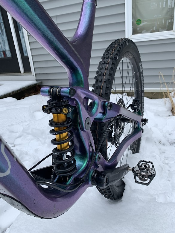 My team Greys Bike Co. S4 enduro custom build