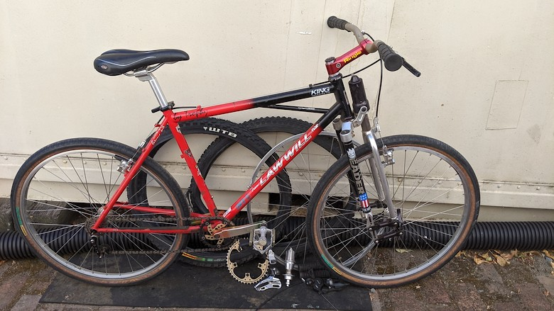 Lawwill XCR Hard Tail Leader Fork Restoration Project