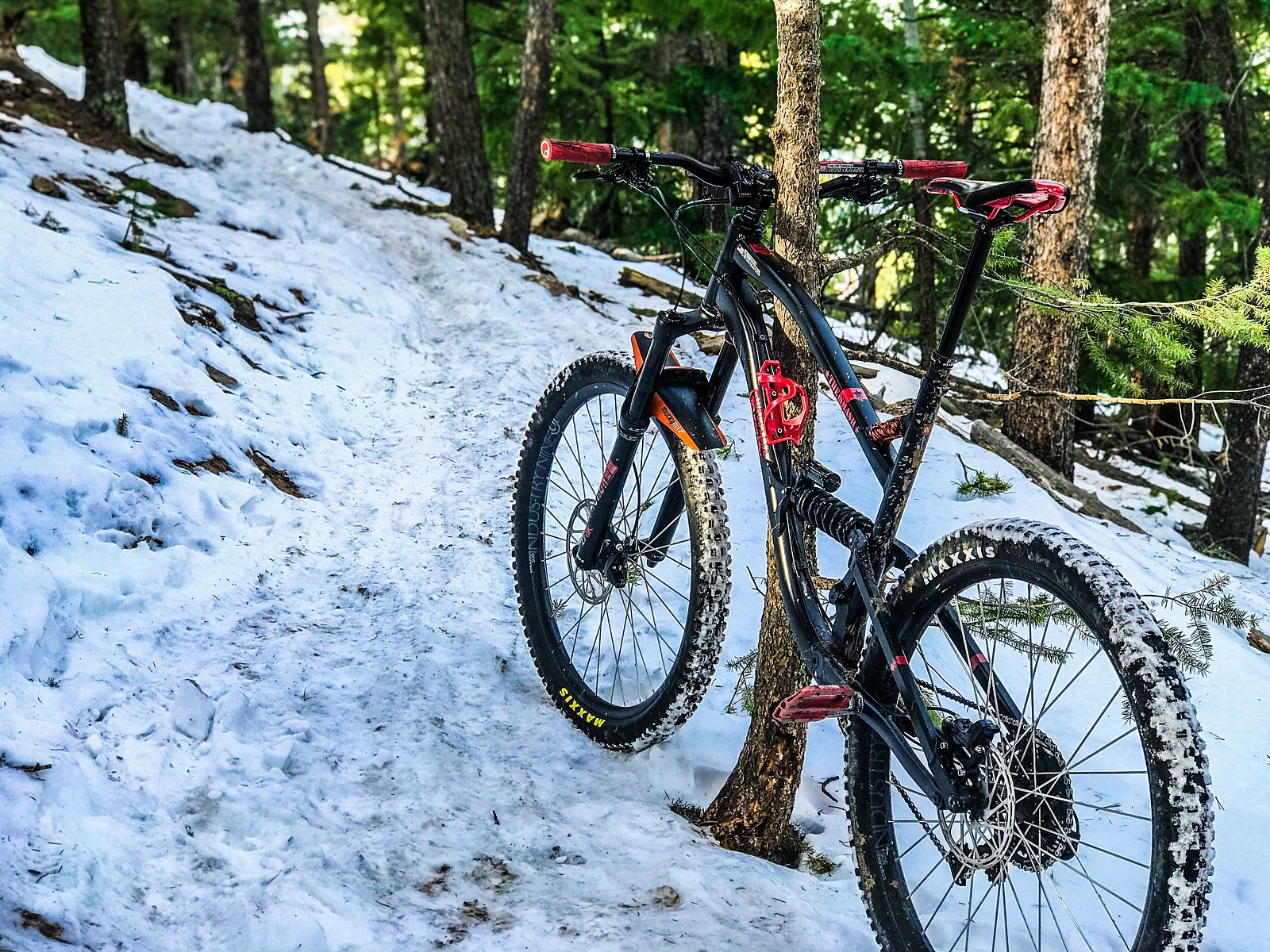 Smash in the snow  - The Notorious PFC MTB - Mountain Biking Pictures - Vital MTB