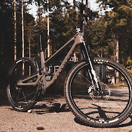"The ""Overkill"" trail bike"