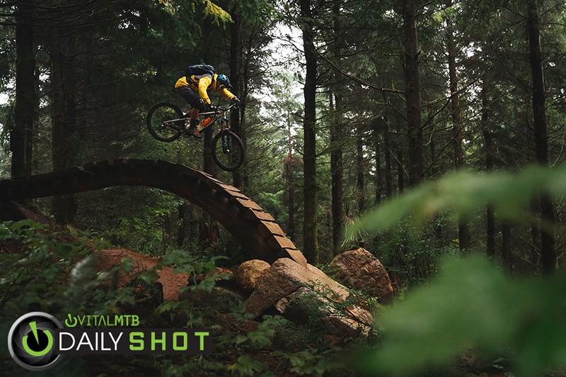 Marco's U-Line Roll In - alxjmoon - Mountain Biking Pictures - Vital MTB