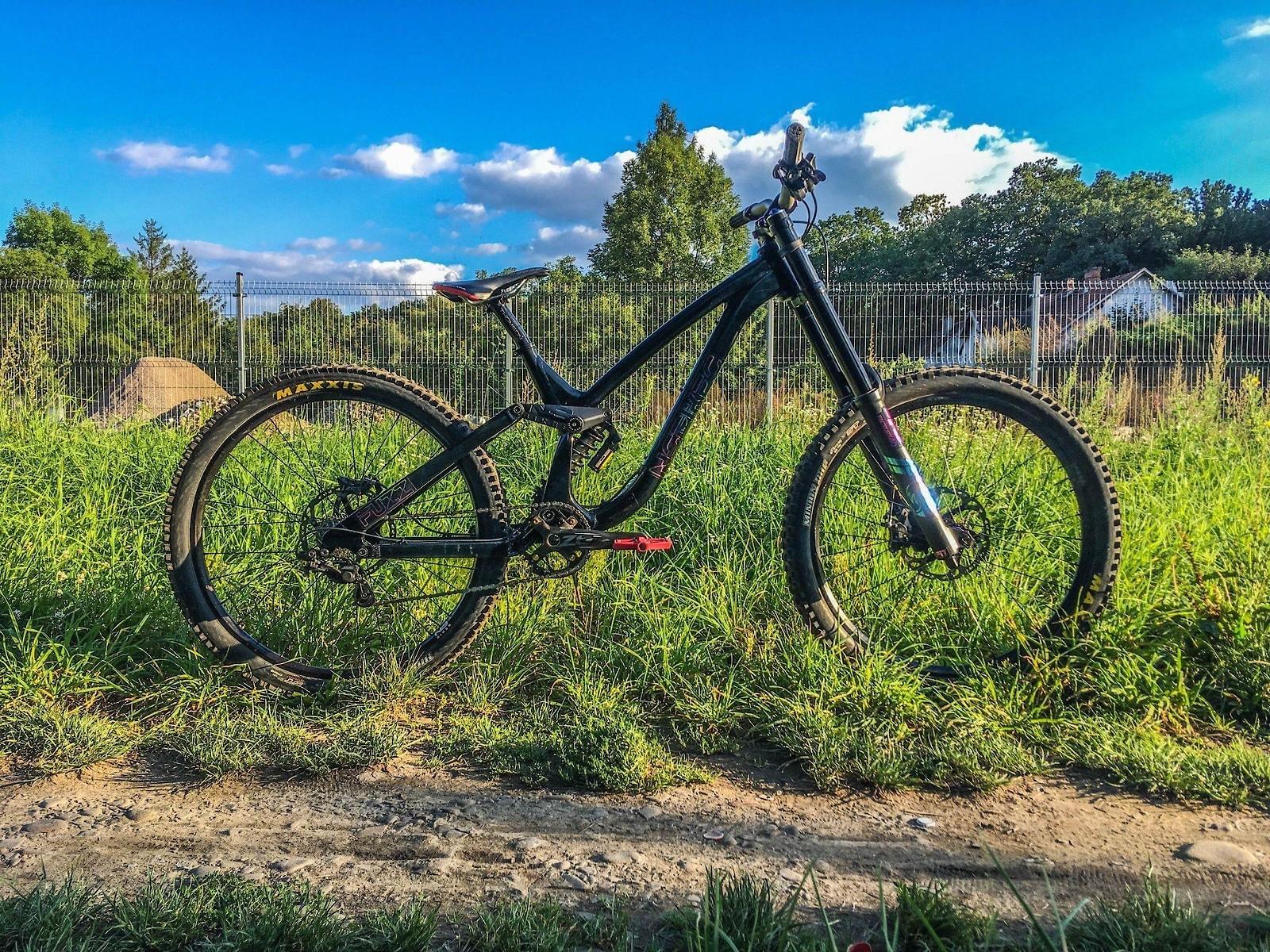 Custom Ns Bikes Oil slick 2019