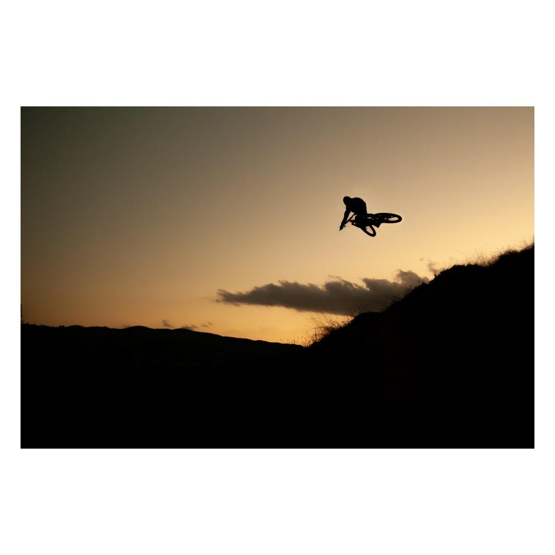 Golden Hour (White border) - jonaswoodruff - Mountain Biking Pictures - Vital MTB