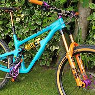 Yeti sb150 T series Ohlins Fox Hope