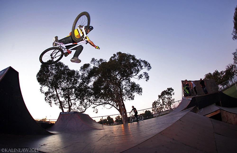 Chris 1-foot Table Down - Lobes SD - Mountain Biking Pictures - Vital MTB