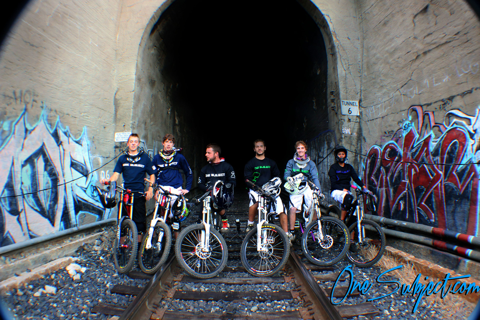 one subject train tunnel - GnarHuck - Mountain Biking Pictures - Vital MTB