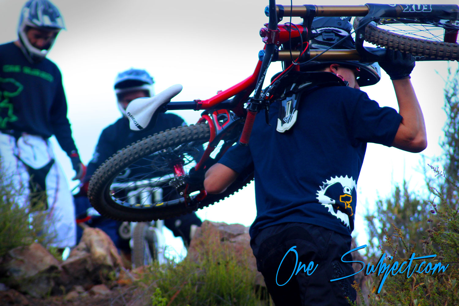 bike hike - GnarHuck - Mountain Biking Pictures - Vital MTB