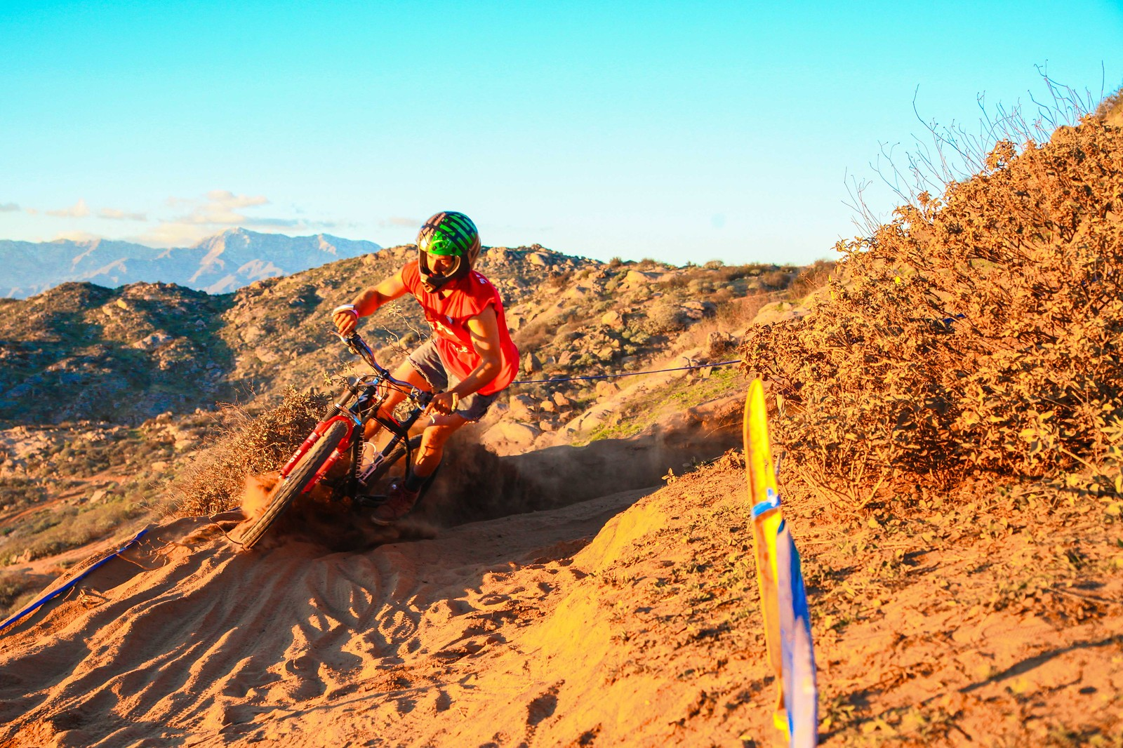 Showing them how its done! - GnarHuck - Mountain Biking Pictures - Vital MTB