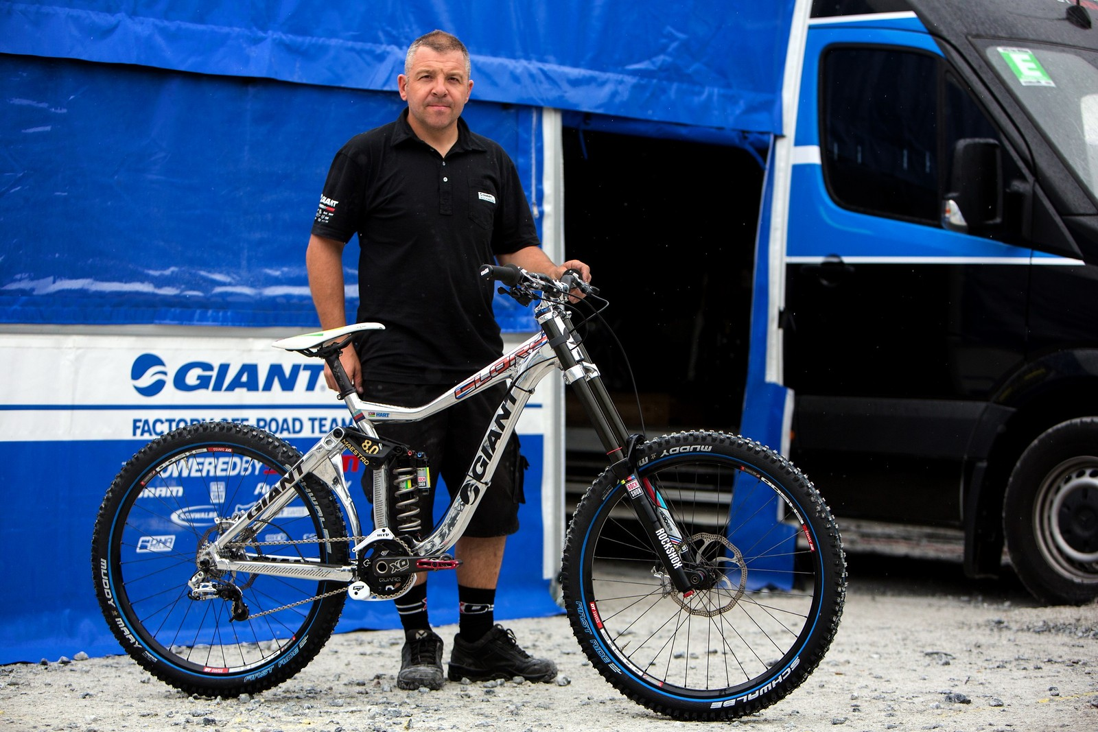 Danny Hart's Giant Glory at Fort William, Help for Heroes - jacobgibbins - Mountain Biking Pictures - Vital MTB