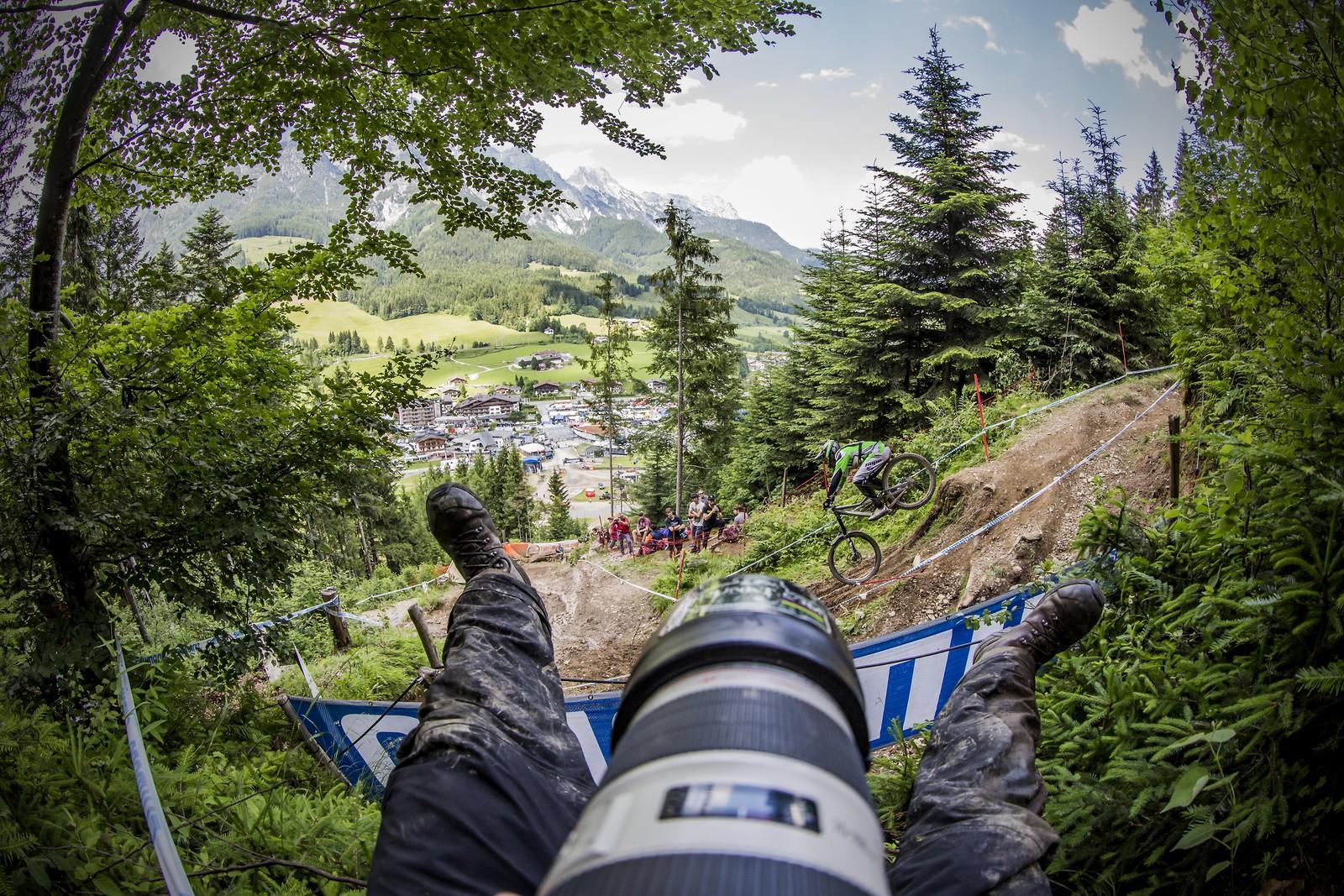 adam bariton leogang wc and my legs ha ha - phunkt.com - Mountain Biking Pictures - Vital MTB