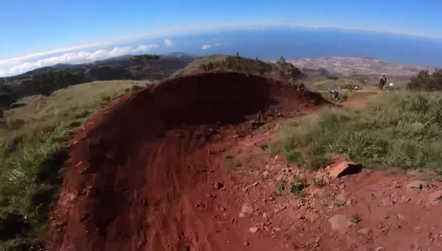 EWS Madeira - Onboard with Jesse Melamed down Loic Bruni's Gamble Line