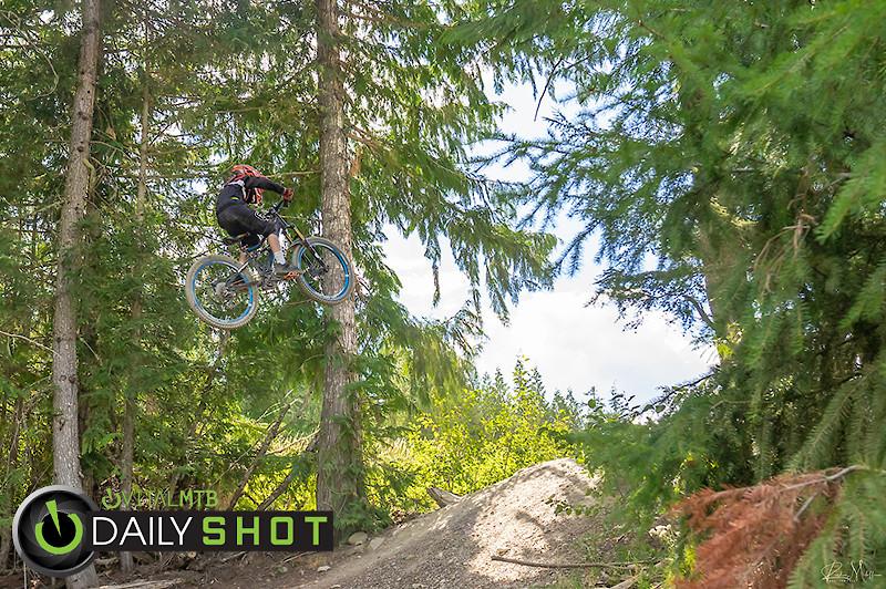 8 year old Nolly Sending Dwayne Johnson - rick.meloff - Mountain Biking Pictures - Vital MTB