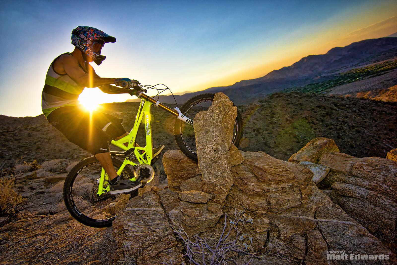 Alvino in the rock garden - EdwardsEntertainment - Mountain Biking Pictures - Vital MTB