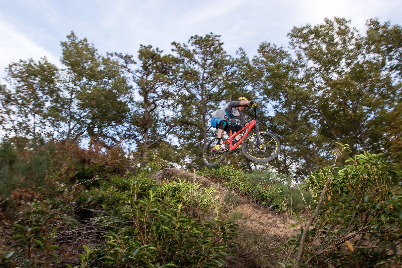 Scouting a drop - gerrycreighton - Mountain Biking Pictures - Vital MTB
