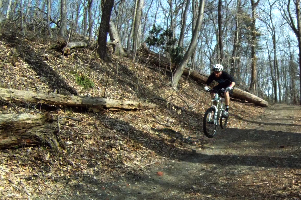 Gerry Creighton floating down the trail - gerrycreighton - Mountain Biking Pictures - Vital MTB