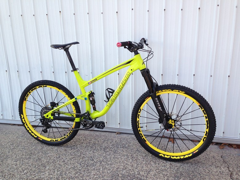 "2015 Transition Scout ""Lemon-Lime"""