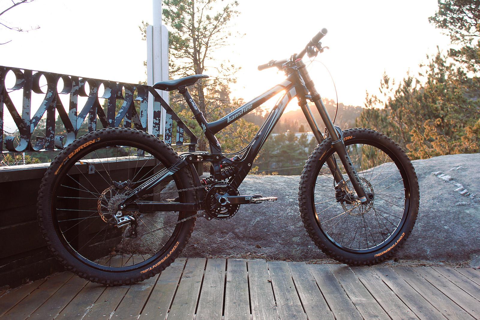staike's Banshee Bikes