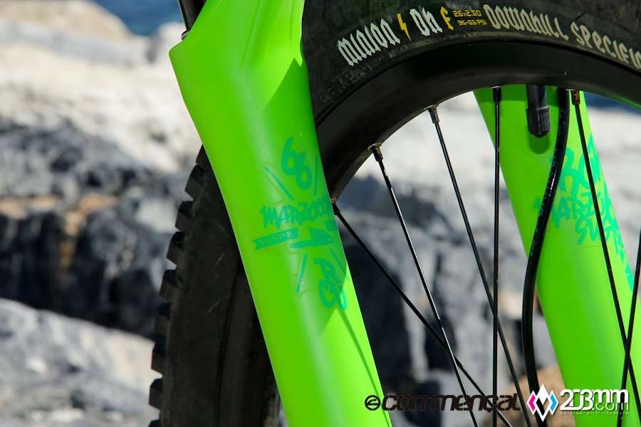 Commencal Supreme FR - 203mm - Mountain Biking Pictures - Vital MTB
