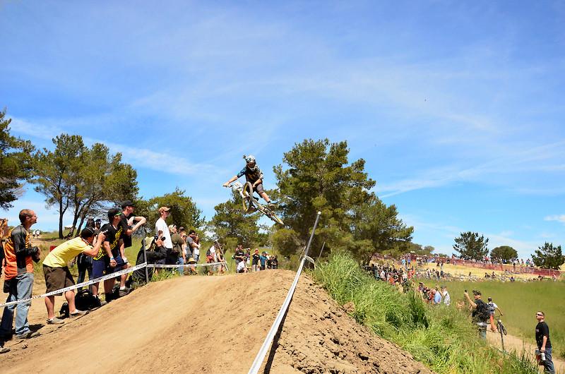 Style during race run - cmontjumper - Mountain Biking Pictures - Vital MTB