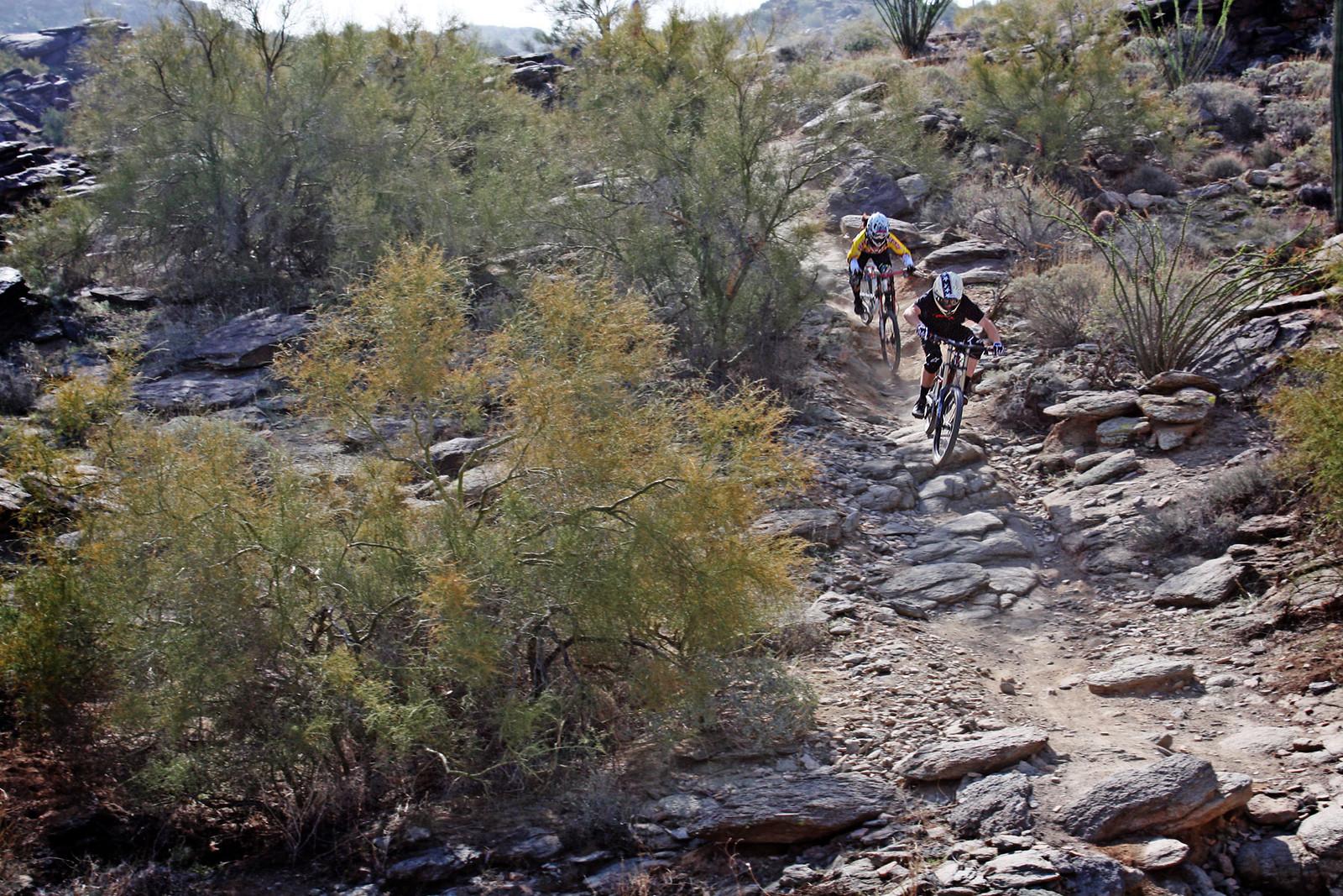 Aaron Gwin & Melissa Buhl 1 - azfreeride - Mountain Biking Pictures - Vital MTB