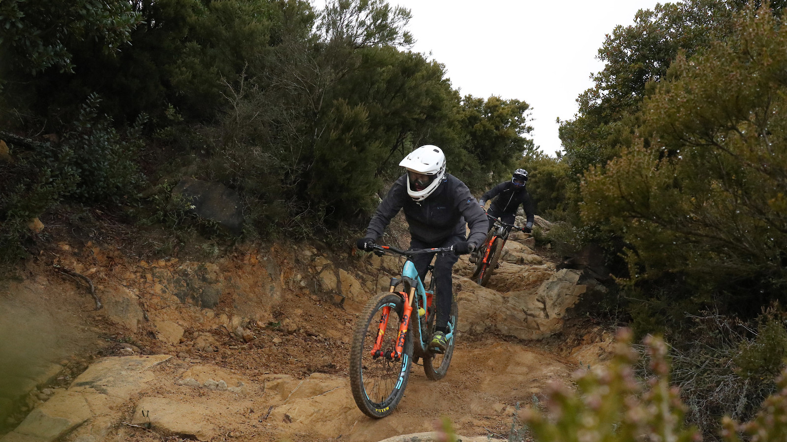 Thomas and Vid San Remo 01 - porson - Mountain Biking Pictures - Vital MTB