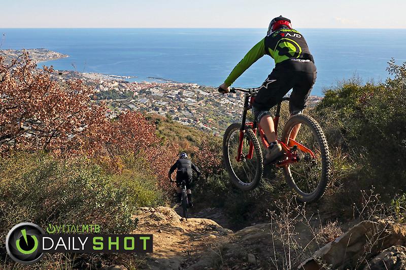 San Remo Vid and Zak - porson - Mountain Biking Pictures - Vital MTB