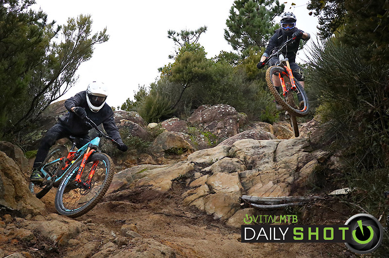 Thomas and Vid San Remo - porson - Mountain Biking Pictures - Vital MTB
