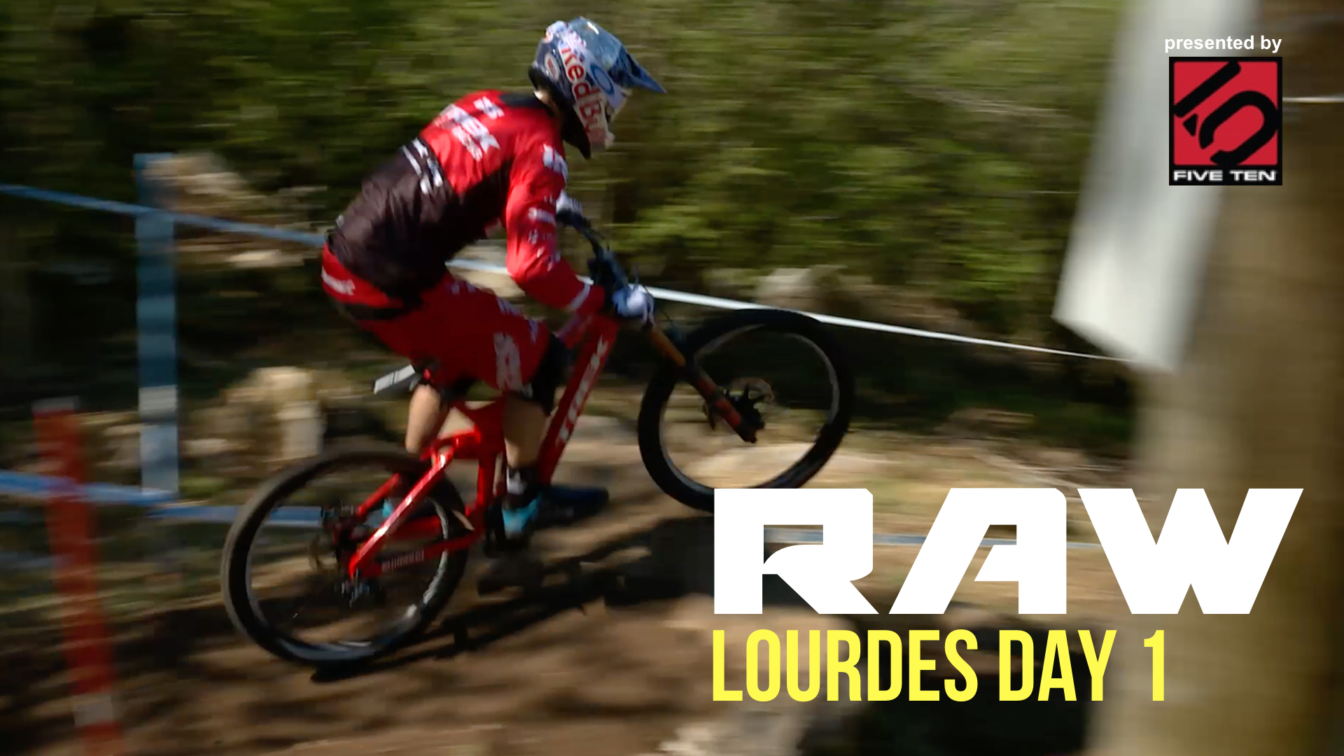 Vital RAW - 2017 Lourdes World Cup Downhill Action