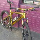 "GT Zaskar Golden Bike ""The California Gold Rush"""