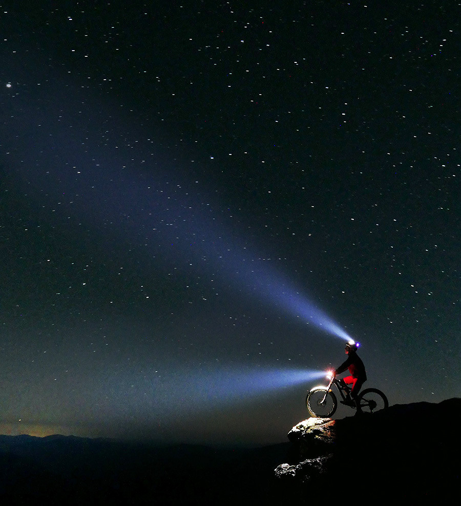 Starry starry night - digitalhippie - Mountain Biking Pictures - Vital MTB