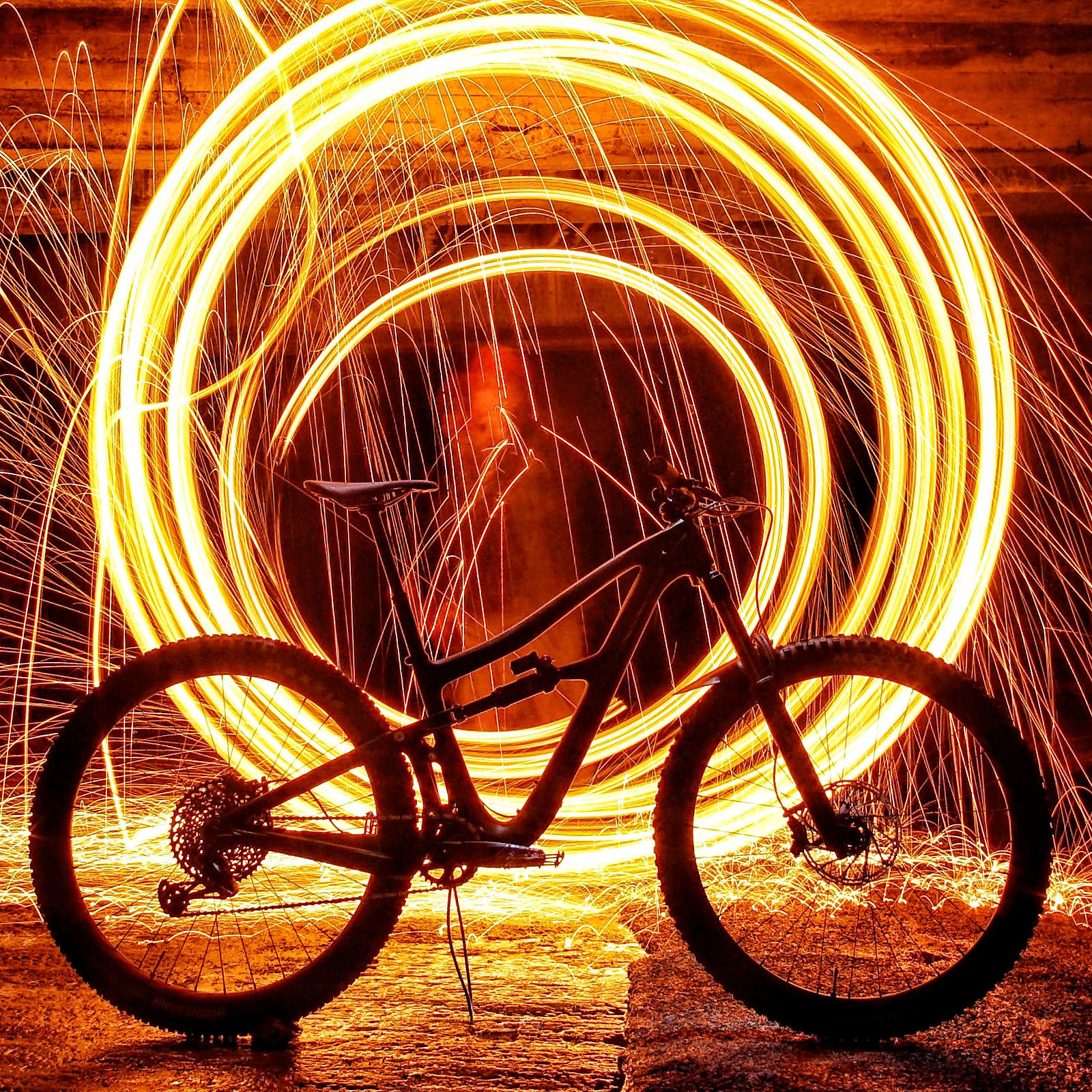Xmas in July! Celebrating new bike day :-)