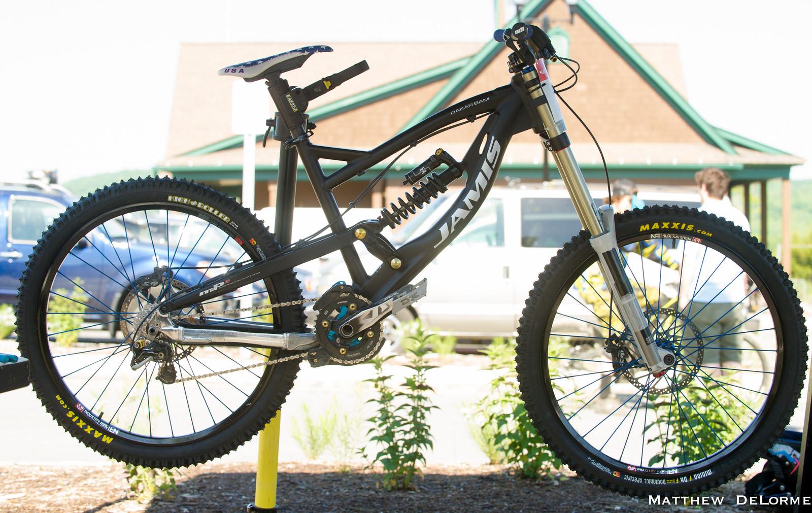 George Ryan's Dakar Bam - Mountain Creek Pro GRT Bike Check - Mountain Biking Pictures - Vital MTB